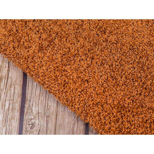 Kusový koberec SHAGGY WIKI – oříškově hnědý
