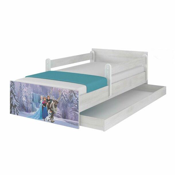 SKLADEM: Dětská postel MAX bez šuplíku Disney - FROZEN II 180x90 cm