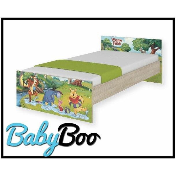 SKLADEM: Dětská postel MAX bez šuplíku Disney - MEDVÍDEK PÚ II 180x90 cm