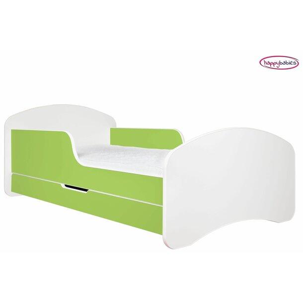 SKLADEM: Dětská postel se šuplíkem 140x70cm BÍLÁ + matrace ZDARMA!