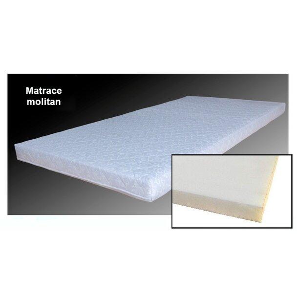 SKLADEM: Dětská postel se šuplíkem NORDI 160x80 cm - bílá/buk