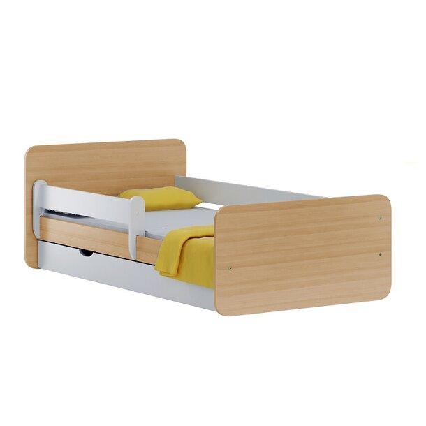 SKLADEM: Dětská postel se šuplíkem NORDI 160x80 cm + pěnová matrace
