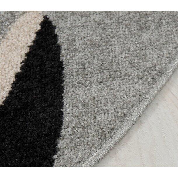 Dětský kulatý koberec Happy M - KOČIČKA