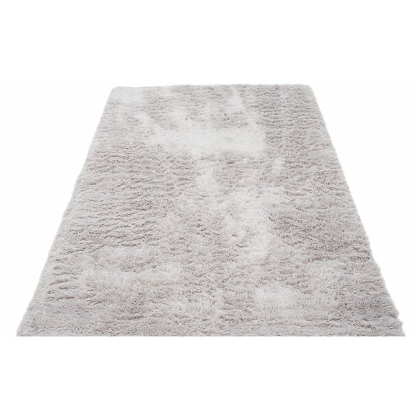 Plyšový koberec TOP - SVĚTLE ŠEDÝ