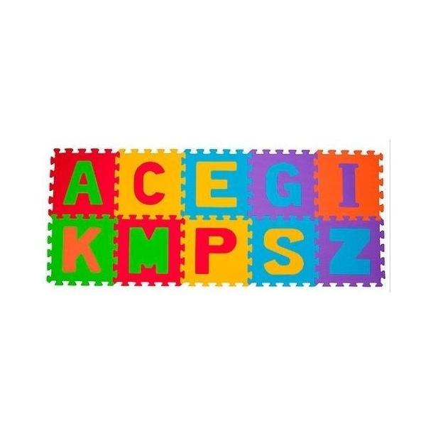 Dětské pěnové puzzle PÍSMENA - 10 ks