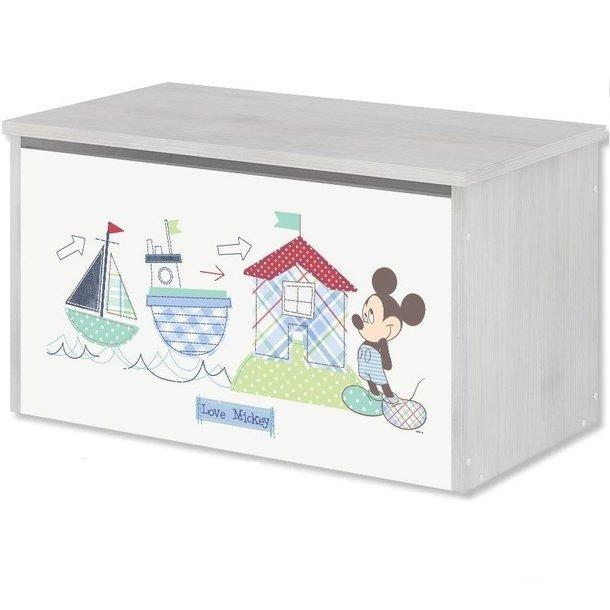 Dětská dřevěná truhla Disney - MICKEY MOUSE