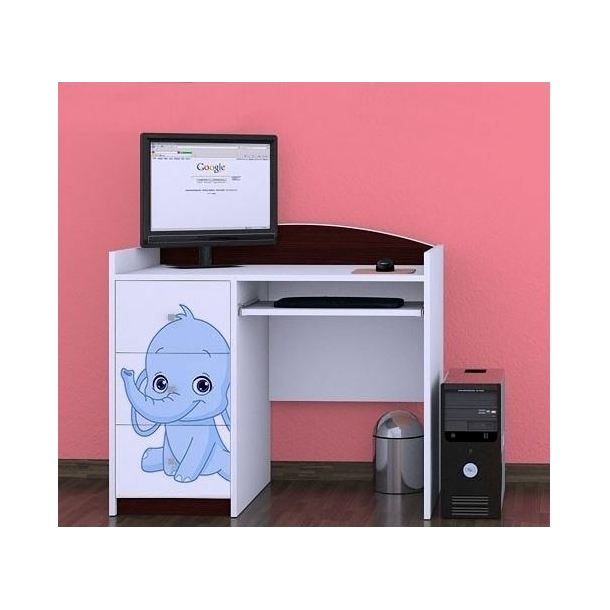 Dětský psací stůl SLONÍCI - TYP 10