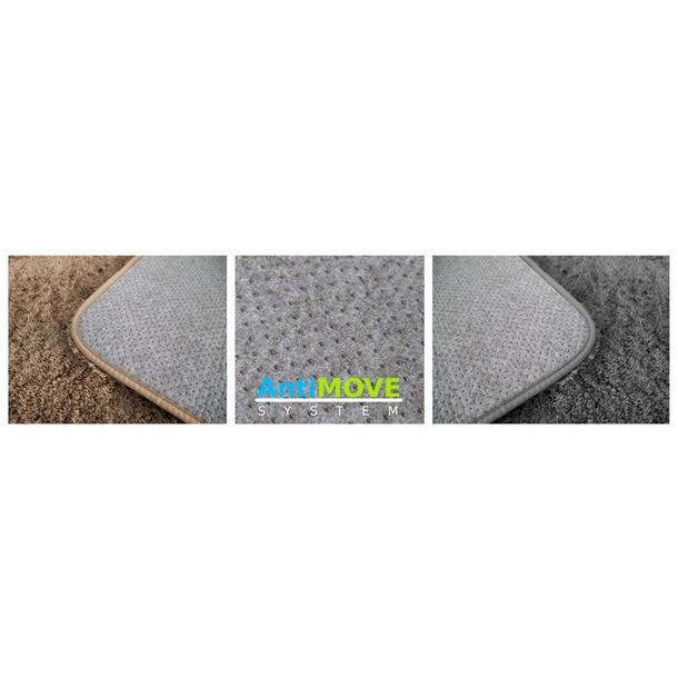 Plyšový koberec - spodní strana