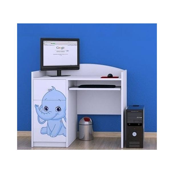 Dětský psací stůl SLONÍCI - TYP 11