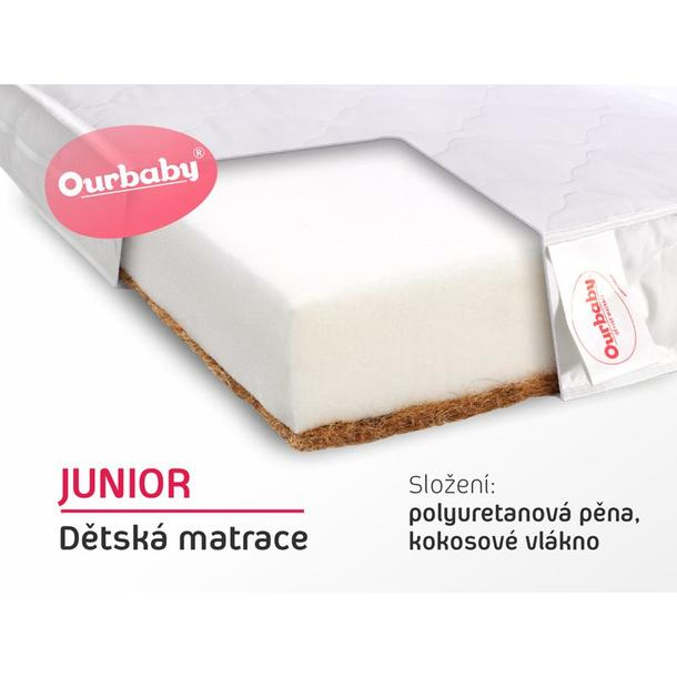 Matrace JUNIOR - 180x80 cm - kokos / molitan