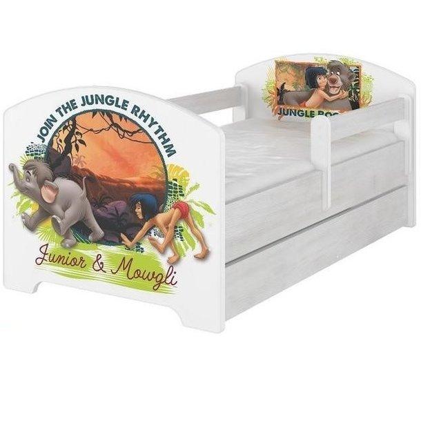 Dětská postel Disney - KNIHA DŽUNGLÍ 160x80 cm