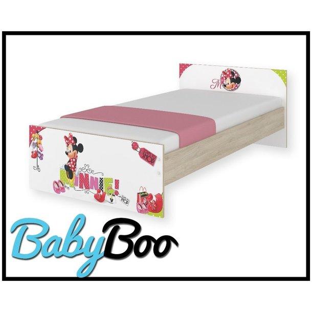Dětská postel MAX Disney - MINNIE I 160x80 cm - BEZ ŠUPLÍKU