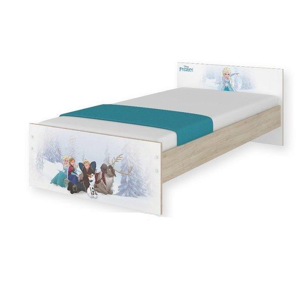 Dětská postel MAX Disney - FROZEN 160x80 cm - BEZ ŠUPLÍKU