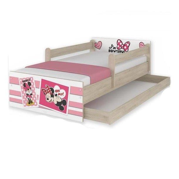 Dětská postel MAX Disney - MINNIE II 160x80 cm - SE ŠUPLÍKEM