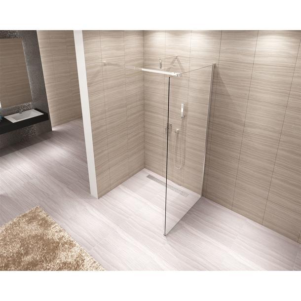Koupelnová pevná zástěna AERO 100 cm