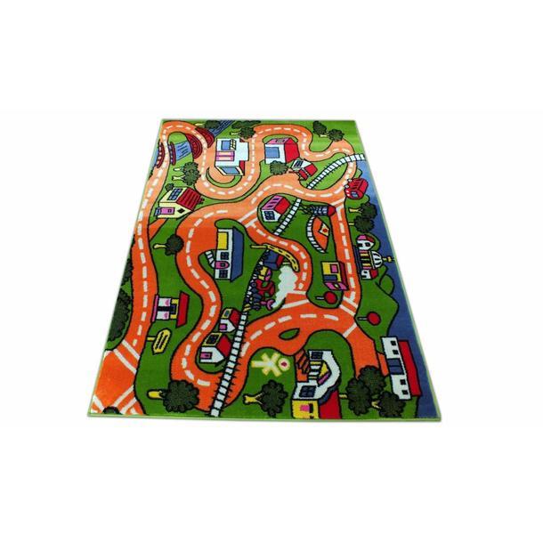 Dětský koberec Oranžová cestička