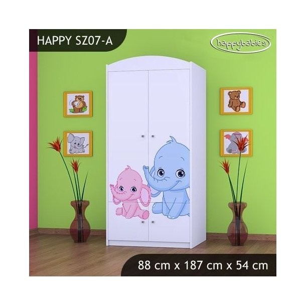 Dětská skříň - TYP 7A
