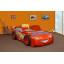Dětská autopostel BLESK McQUEEN 180x90 cm (MDF) s MATRACÍ ZDARMA
