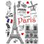 Designová samolepka PAŘÍŽ