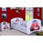 Dětská postel se šuplíkem 160x80cm AUTÍČKO