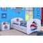 Dětská postel se šuplíkem 160x80cm LODIČKA