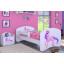 Dětská postel bez šuplíku 180x90cm JEDNOROŽEC