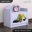 Dětský noční stolek BAGR - TYP 1