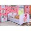 Dětská postel se šuplíkem 160x80cm MEDVÍDEK S BALONKY