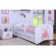 Dětská postel se šuplíkem 180x90cm MEDVÍDEK SE SRDÍČKEM