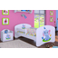 Dětská postel bez šuplíku 180x90cm SLON A MOTÝLCI