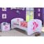 Dětská postel bez šuplíku 160x80cm VÍLA A MOTÝLCI