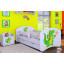 Dětská postel se šuplíkem 160x80cm ZELENÝ DRAK