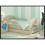 Dětská postel s výřezem PEJSEK - modrá 140x70 cm