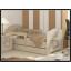 Dětská postel s výřezem PEJSEK - přírodní 160x80 cm