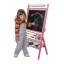 Dětská magnetická tabule s počítadlem - růžová