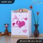 Dětská komoda FALL IN LOVE - TYP 4