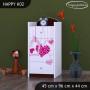 Dětská komoda FALL IN LOVE - TYP 2