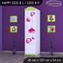 Dětská skříň FALL IN LOVE - TYP 2B