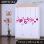 Dětská skříň FALL IN LOVE - TYP 10