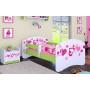 Dětská postel bez šuplíku 180x90cm FALL IN LOVE