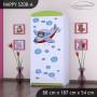 Dětská skříň - TYP 8B