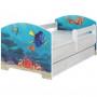 Dětská postel Disney - HLEDÁ SE NEMO 160x80 cm