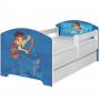Dětská postel Disney - JAKE A PIRÁTI 160x80 cm