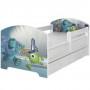 Dětská postel Disney - PŘÍŠERKY s.r.o. 160x80 cm